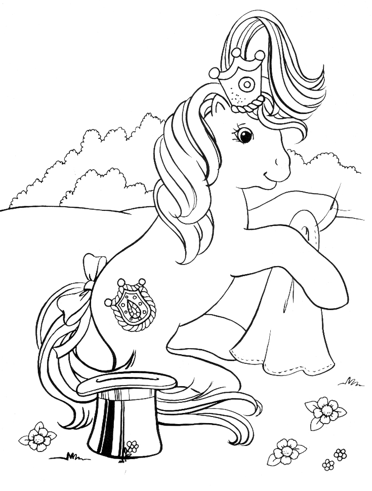 DIBUJOS DE MY LITTLE PONY:::MUNDOPEKE.COM
